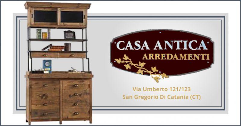 offerta credenza industrial vintage catania - occasione credenza alta stile industriale catania