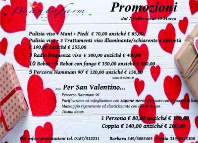 promozione trattamenti di bellezza beauty farm porto lotti per s valentino