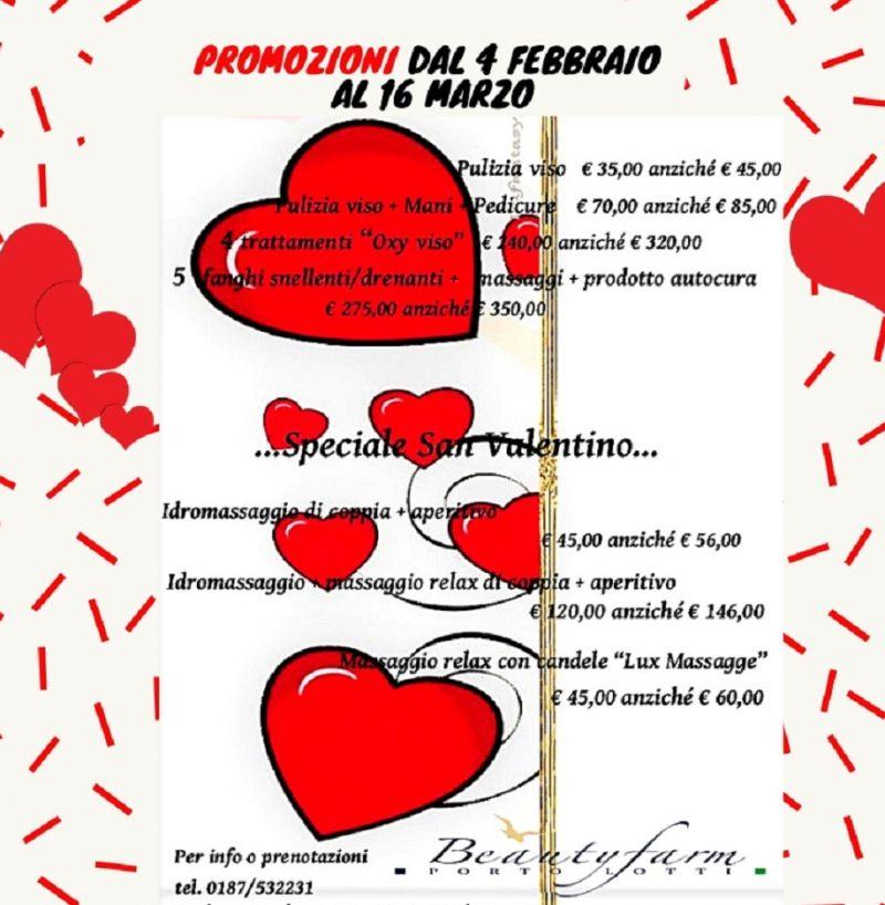 Offerta San Valentino Beauty Farm La Spezia  Offerta Trattamenti estetici La Spezia