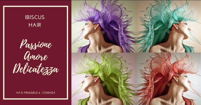 Ibiscus hair promozione henne cosenza - offerta colorazione degrade cosenza