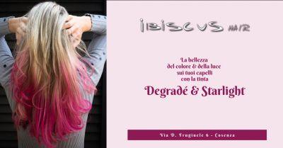 ibiscus hair promozione colorazione degrade cosenza offerta tinta starlight cosenza