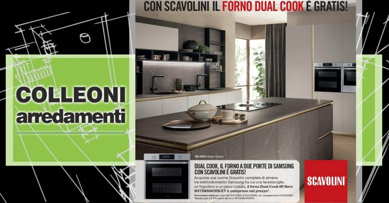 Offerta Cucina completa SCAVOLINI Bergamo - Occasione Store Scavolini Cucine Bergamo