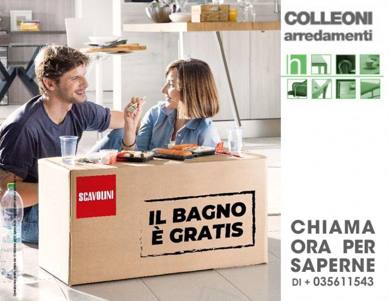 COLLEONI ARREDAMENTI offerta bagno scavolini gratis – promozione speciale cucine design