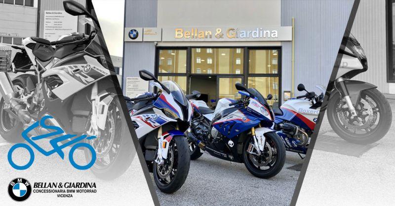 Offerta Test Drive Gratuito Moto BMW - Occasione Dove fare test Drive BMW MOTORRAD Vicenza