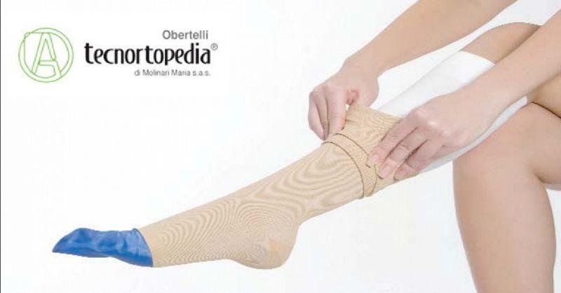 TECNORTOPEDIA OBERTELLI offerta calze elastiche ortopediche - occasione calzature per plantari