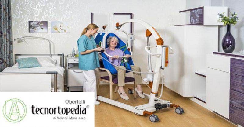TECNORTOPEDIA OBERTELLI offerta vendita letti ortopedici - occasione sollevatori per disabili
