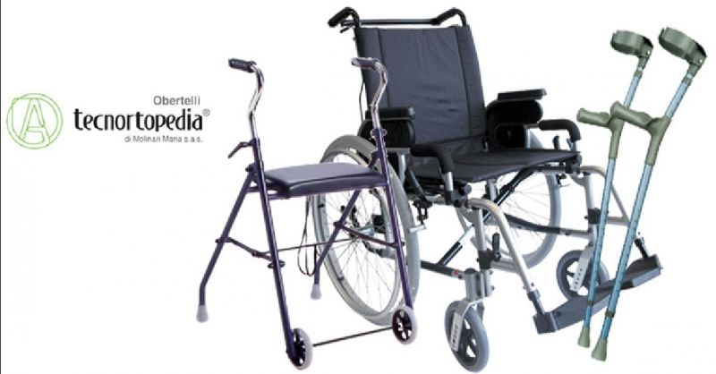 TECNORTOPEDIA OBERTELLI offerta noleggio articoli ortopedici - occasione noleggio stampelle