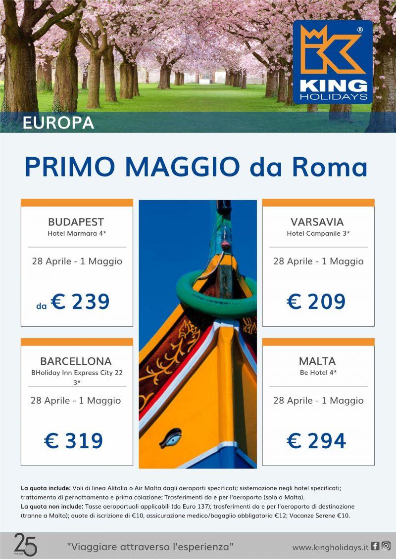 1 maggio in europa da roma