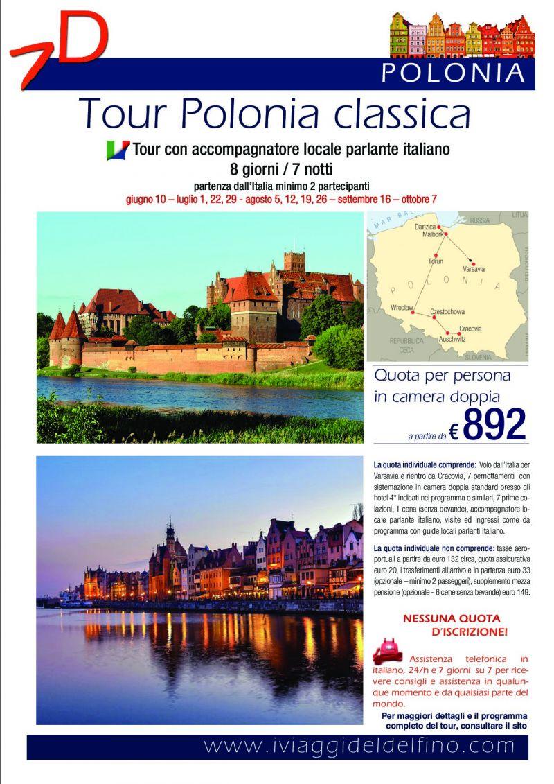 tour guidato polonia classica