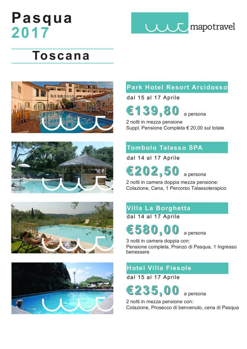 pasqua 2017 in toscana