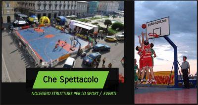 offerta noleggio strutture per lo sport eventi occasione noleggio attrezzature sportive