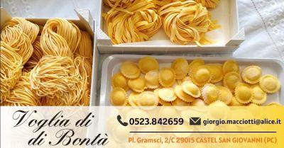 voglia di bonta offerta azienda specializzata nella produzione pasta fresca provincia piacenza