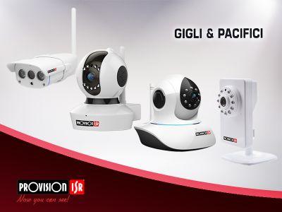 offerta telecamere provision plug and view promozione videosorveglianza gigli e pacifici