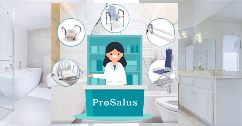 promozione ausili e articoli sanitari per il bagno - SANITARIA PROSALUS