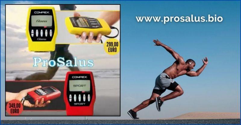 occasione apparecchi per la stimolazione muscolare COMPEX - SANITARIA PROSALUS