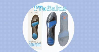 offerta suola soft sole gel effect per piedi e calzature prosalus