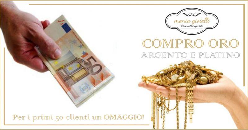 Monia Gioielli Assemini - offerta riapertura compro oro argento platino