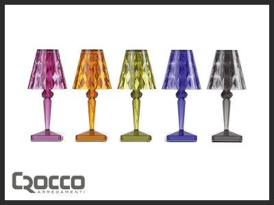 offerta lampada kartell battery promozione lampada battery crocco arredamenti