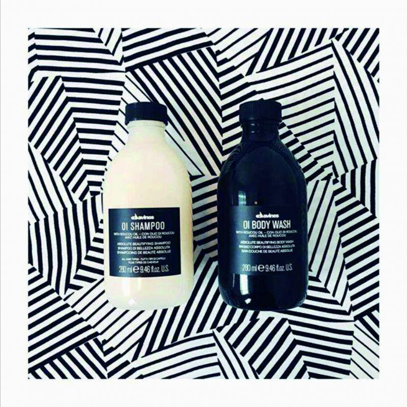 shampoo e body wash per tutti i tipi di capelli
