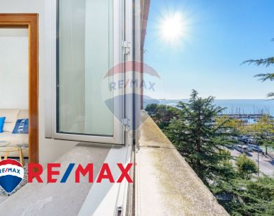 remax enterprise vende trilocale viale miramare barcola promo appartamento con vista