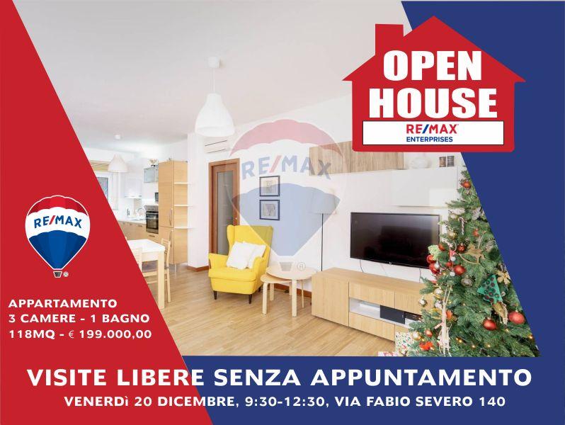 REMAX ENTERPRISE offerta open house visita libera appartamento in via fabio severo 20 dicembre