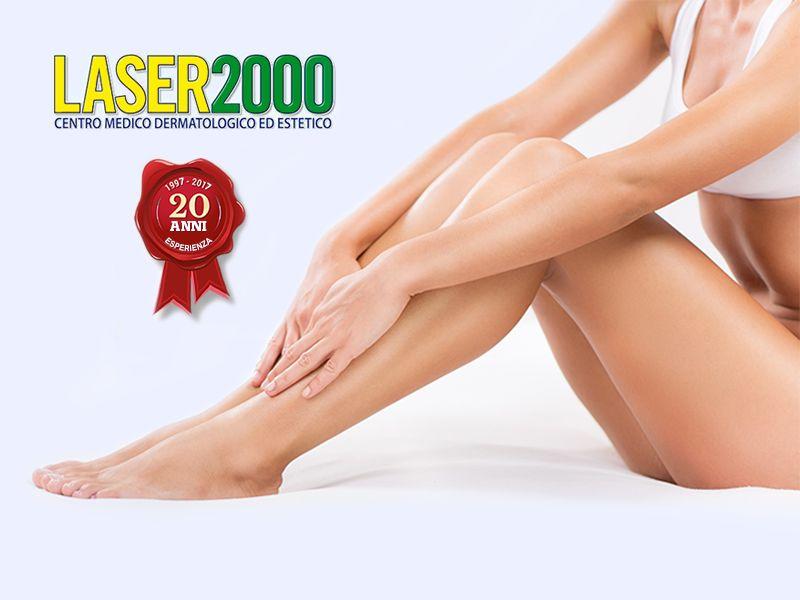 offerta trattamenti epilazione laser promozione laser alessandrite centro laser 2000