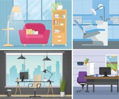 offerta affitto ufficio luminoso bonate sotto promozione ufficio piano terra centro bonate