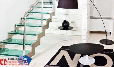 edil ceramiche beretta offerte scale interne a sbalzo promozione scale interne a giorno
