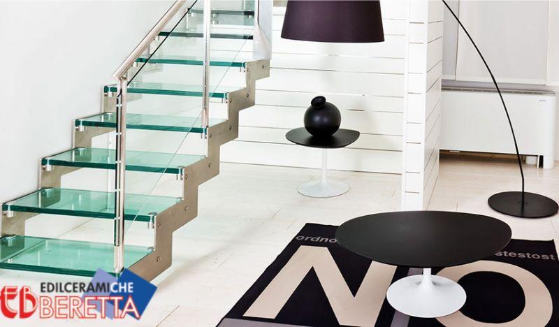 EDIL CERAMICHE BERETTA offerte scale interne a sbalzo - promozione scale interne a giorno