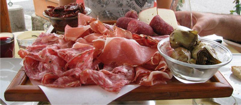 Prodotti tipici senesi - Tagliere - Bar dell'Orso - Siena