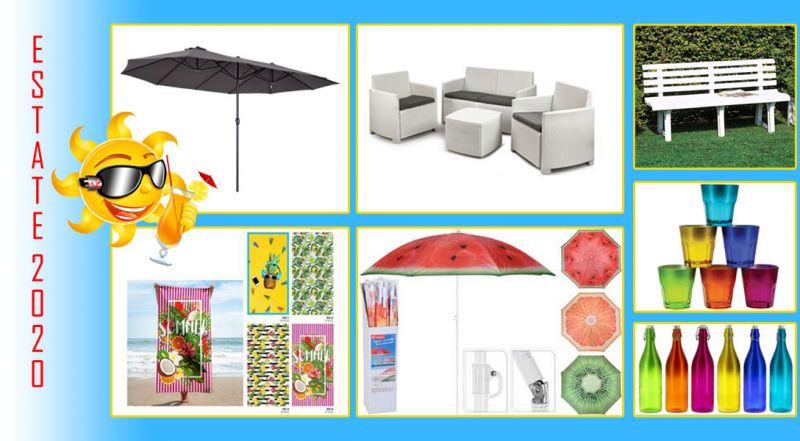 Offerta ombrelloni doppi da giardino Cosenza – Promozione ombrelloni e teli da mare
