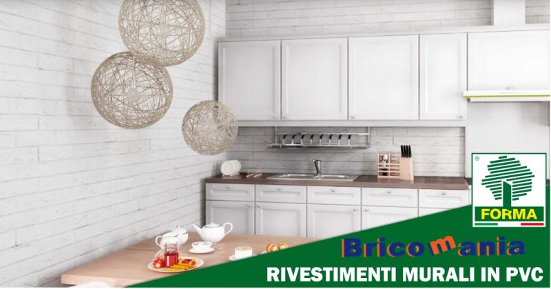 BricoMania Oristano - promozione rivestimenti murali in PVC Guercio Forma
