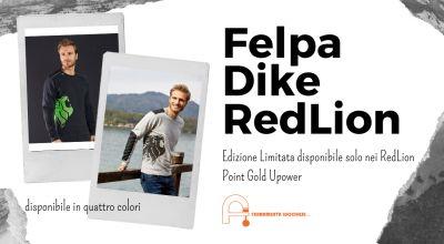 offerta vendita di felpe dike redlion upower a pordenone vendita abbigliamento anti infortunistico upower a pordenone