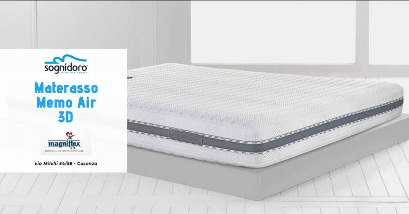 Sogni D Oro - Offerta materasso magniflex cosenza - promozione materasso Memo Air 3D