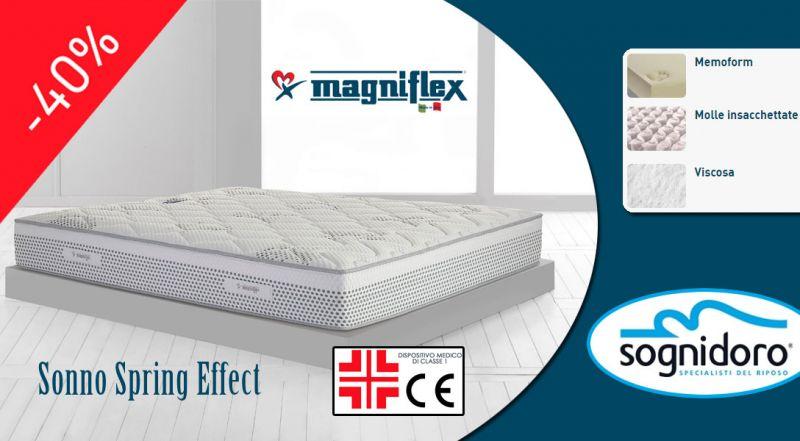 Offerta MAGNIFLEX materasso SONNO SPRING EFFECT cosenza - promozione sonno spring effect materasso matrimoniale cosenza