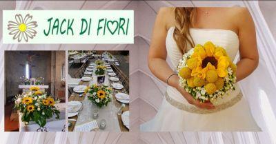 offerta bouquet e allestimenti per matrimonio Siena - occasione fiori e addobbi matrimonio