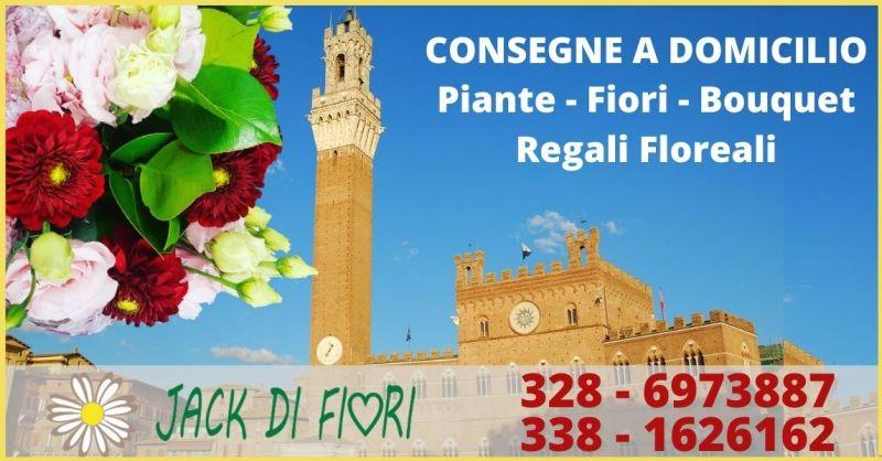 offerta consegna a domicilio piante e fiori a Siena - JACK DI FIORI