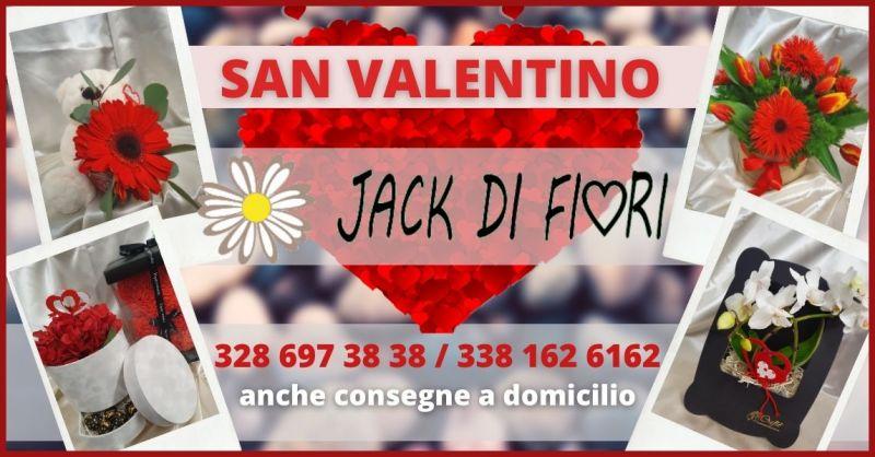 offerta Regali e Idee Regalo per San Valentino a domicilio Siena - JACK DI FIORI