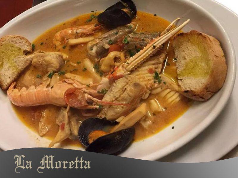 Brodetto di pesce all' anconetana - La Moretta