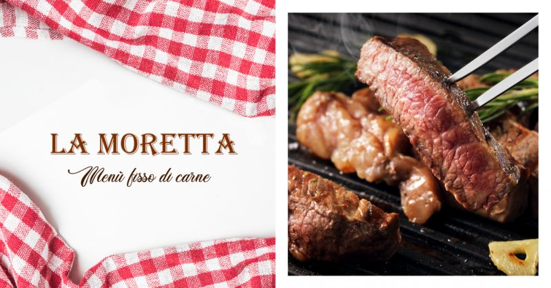 Offerta Pranzo Menu Fisso Carne Ancona - Occasione Specialita Carne Trattoria Ancona