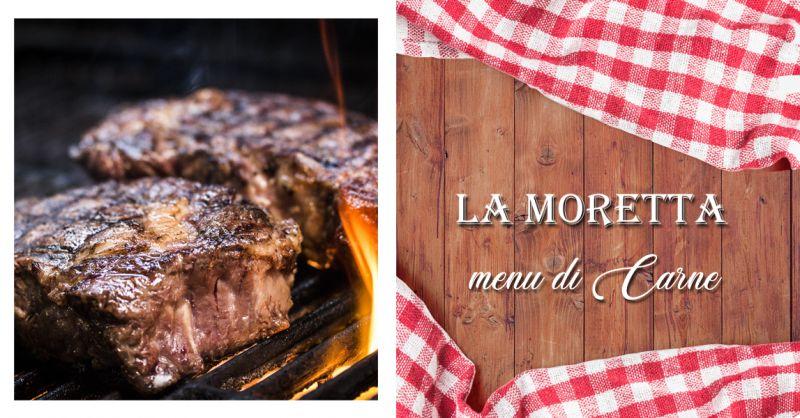 Offerta Trattoria Menu di Carne Ancona - Occasione Menu di Carne Asporto Ancona