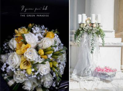 the green paradise offerta allestimento matrimonio promozione fiorista matrimonio
