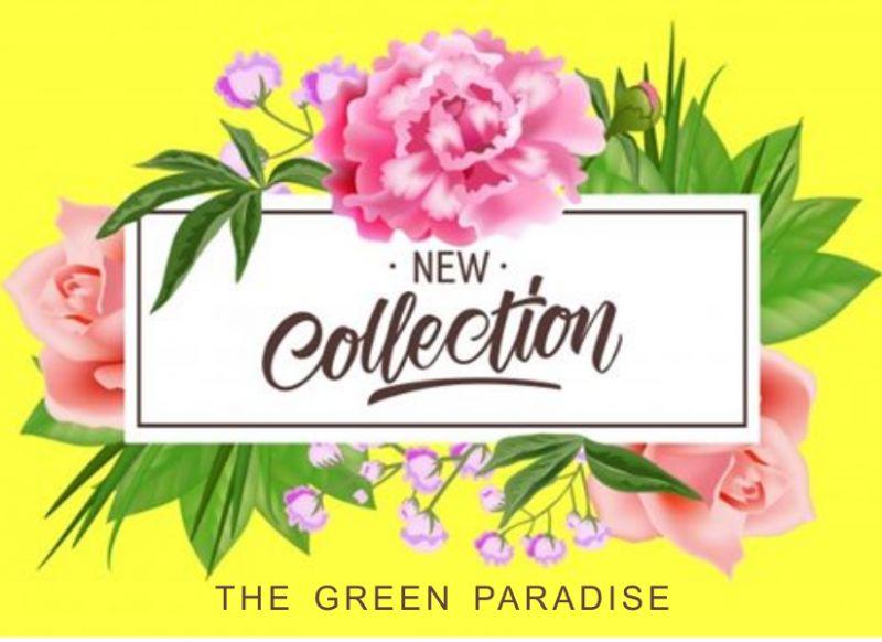 THE GREEN PARADISE offerta nuova collezione 2020 – promozione idee regalo floreali