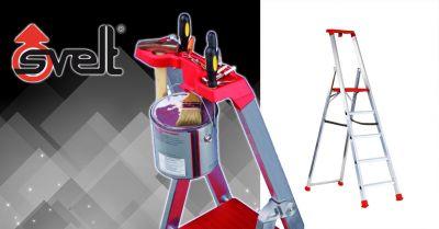 offerta scala doppia in alluminio bergamo occasione scala marea light ad uso domestico in alluminio