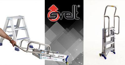 offerta sgabello professionale pieghevole in alluminio bergamo occasione scala a forbice professionale