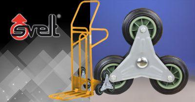 offerta carrello professionale leggero bergamo occasione carrello saliscale in acciaio bergamo
