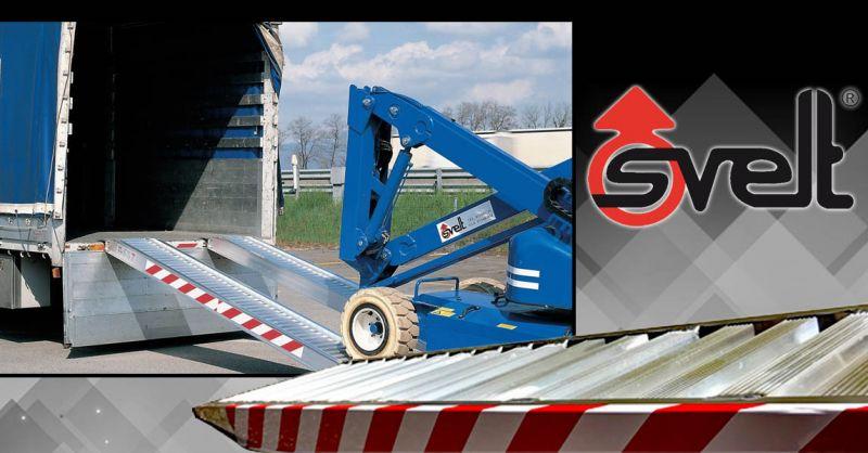 Offerte Rampa da carico in alluminio in vendita Bergamo - Occasione Rampe da carico con Bordo