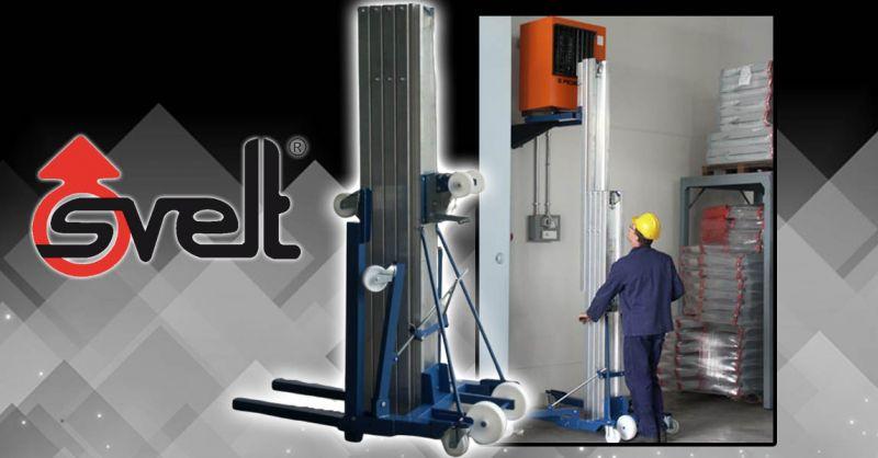 Offerta fornitori sollevatori meccanici per merci Bergamo - Occasione Sollevatore meccanico manuale