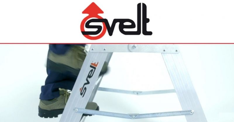 Find the best Italian company the production of ladders and scaffolding for professional use