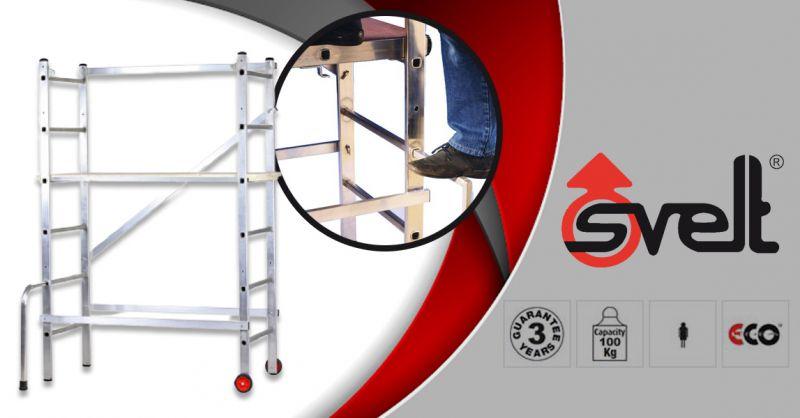 SVELT SPA - Ofertă pentru producția și vânzarea SCHELEI SMALL MAGO S 1.18x0.55 m fabricată în Italia